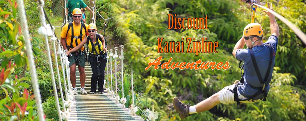 & Kauai zipline Tours and Adventures - Kauai Canopy Zip Line tours.